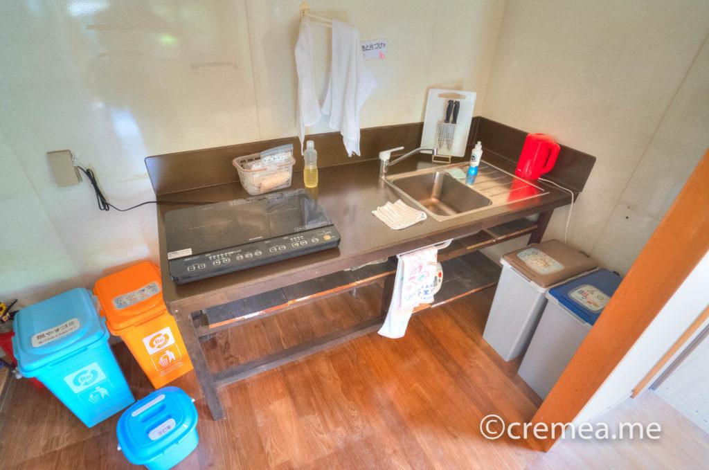 流しと調理器具とゴミ箱2|SONY α7Ⅲで撮影
