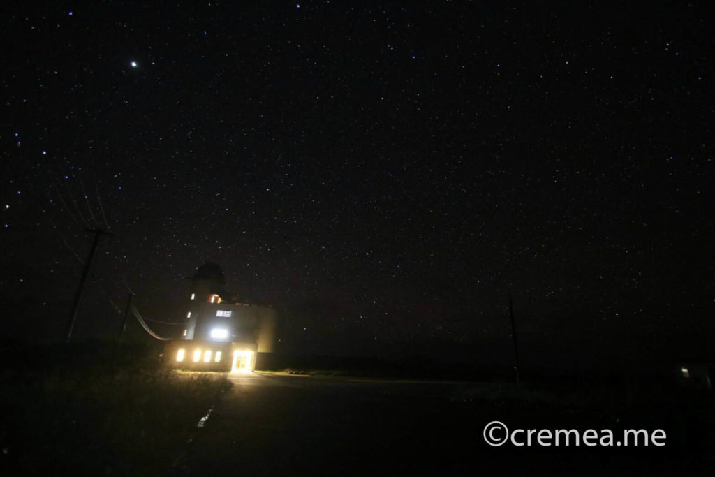星空観測タワーと星空|SONY α7Ⅲで撮影