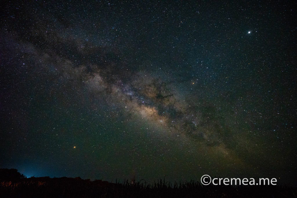 煌めく星空に横たわる「天の川」|SONY α7Ⅲで撮影