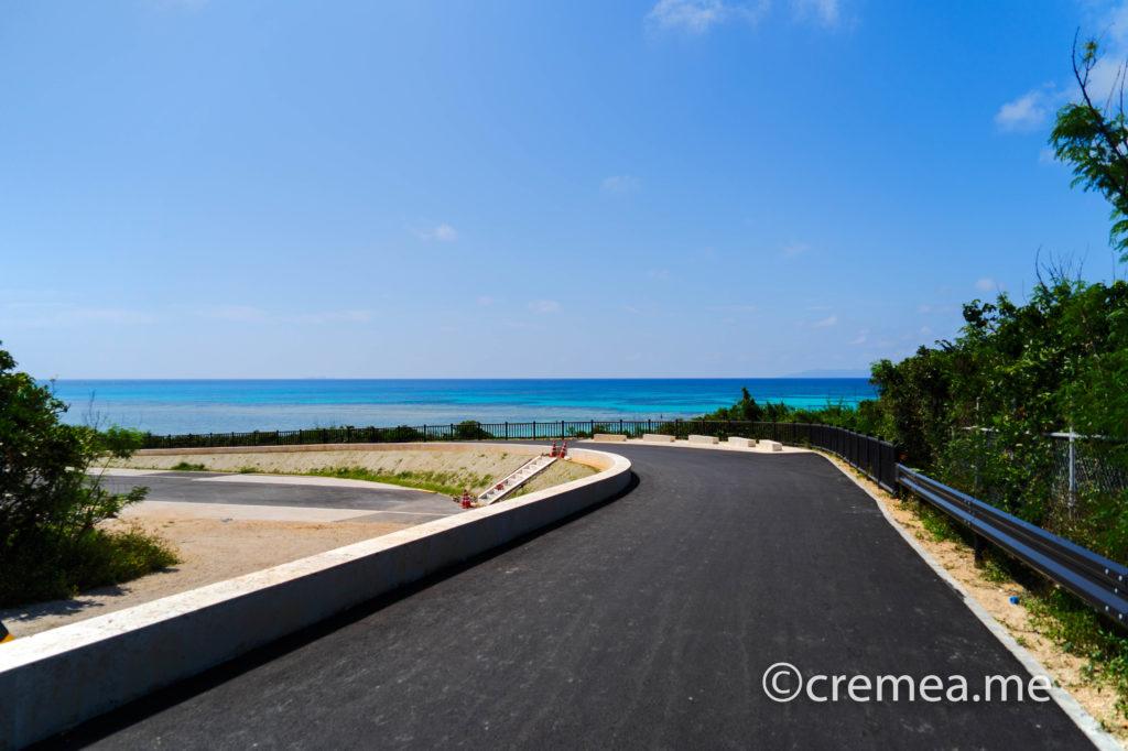 ニシ浜への坂道|SONY α7Ⅲで撮影