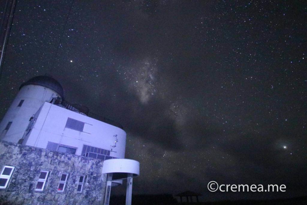 星空観測タワーと星空2|SONY α7Ⅲで撮影