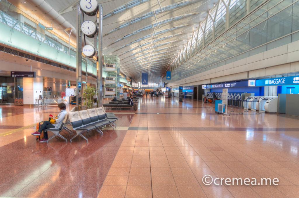 羽田空港第2ターミナル|SONY α7Ⅲで撮影